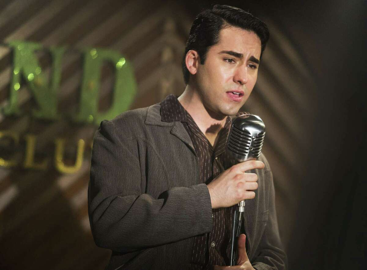 John Lloyd Young portrays Frankie Valli, the central character in the Clint Eastwood-directed