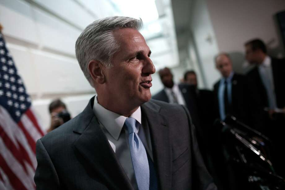 Rep. Kevin McCarthy, R-Bakersfield, the Republican whip in the House, is likely to be elevated to majority leader in the wake of the sudden fall of Rep. Eric Cantor. Photo: Win McNamee, Getty Images