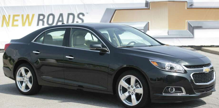 The 2014 GM's Chevy Malibu placed first for initial quality in the midsize car category, beating the popular Toyota Camry. Photo: Carlos Osorio / Associated Press / AP