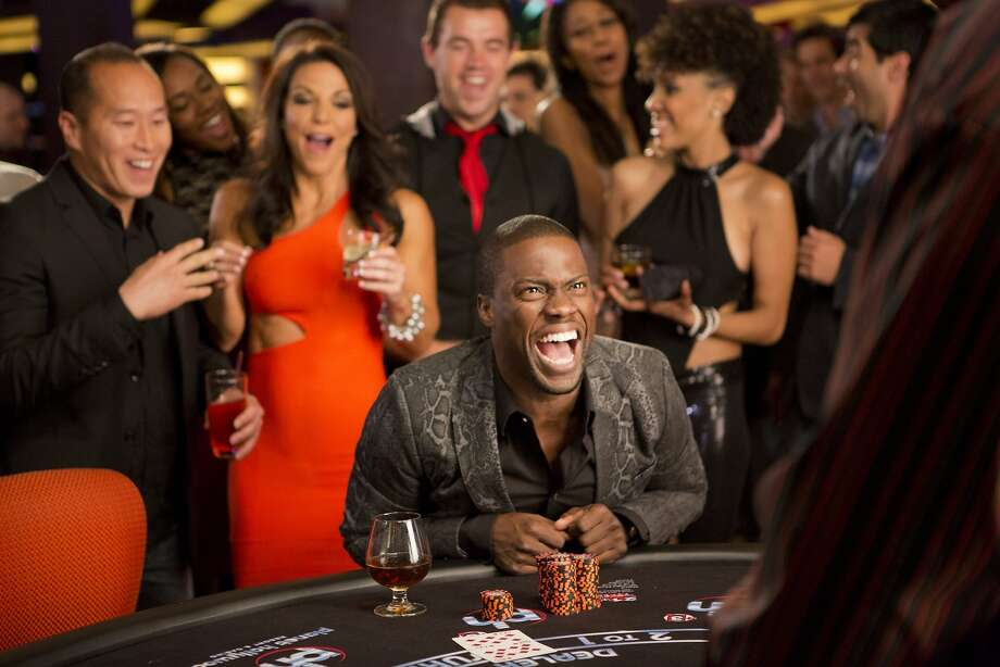 Cedric (Kevin Hart) has a bigger role in the sequel that is set in Las Vegas, which turns out to be a gamble that didn't pay off in laughs, though the director tried to make the film nonstop zany. Photo: Matt Kennedy, Sony Pictures Releasing