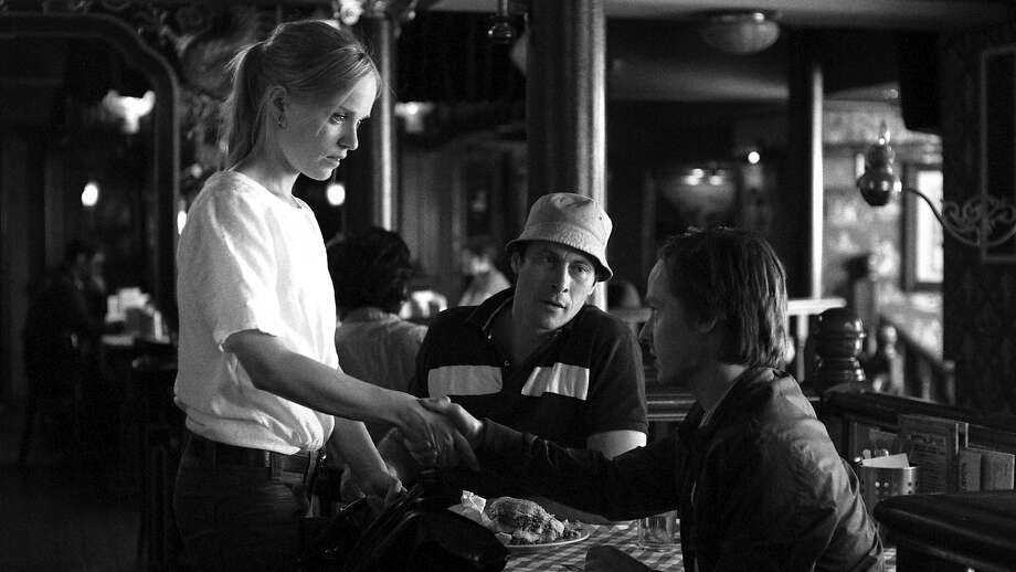 "Julika (Friederike Kempter, left), Matze (Marc Hosemann) and Niko (Tom Schilling) star in the German film ""A Coffee in Berlin,"" which explores encounters with an odd mix of characters. Photo: Courtesy Of Music Box Films"