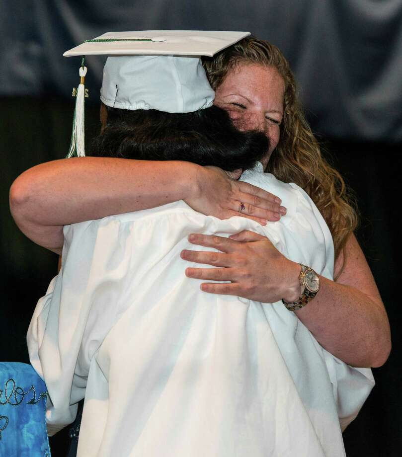Stamford Academy graduation ceremony held at Traiblazers Academy, Stamford, CT on Wednesday, June 18th, 2014. Photo: Mark Conrad / Connecticut Post Freelance