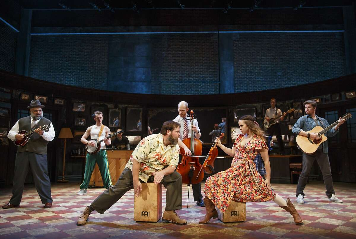 The ensemble in the touring company of the hit Broadway musical