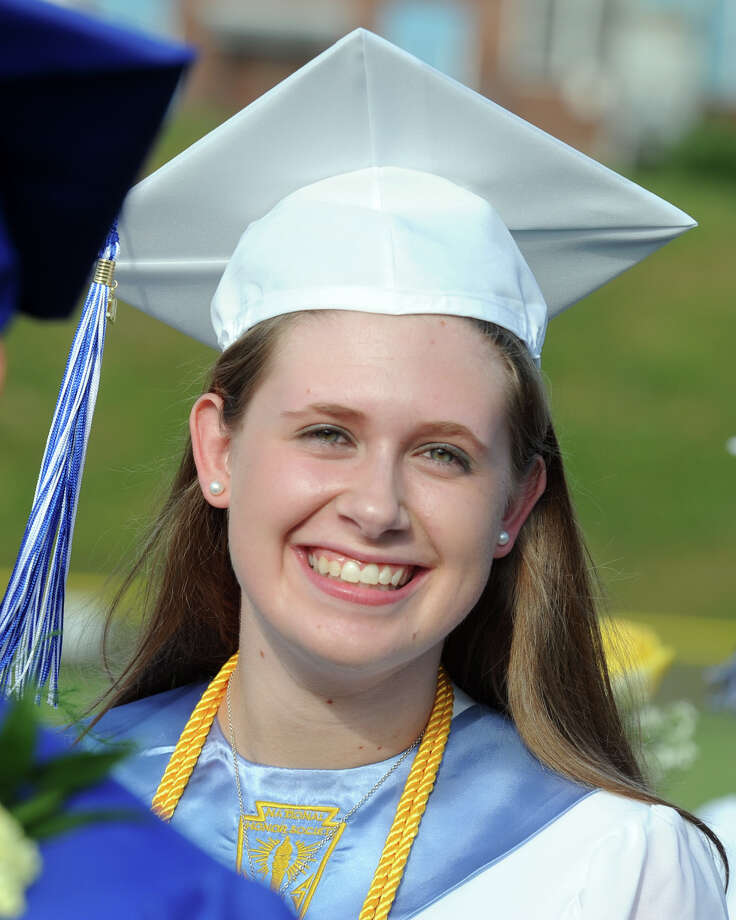 Commencement for the Frank Scott Bunnell High School Class of 2014, in Stratford, Conn. June 18, 2014. Photo: Ned Gerard / Connecticut Post