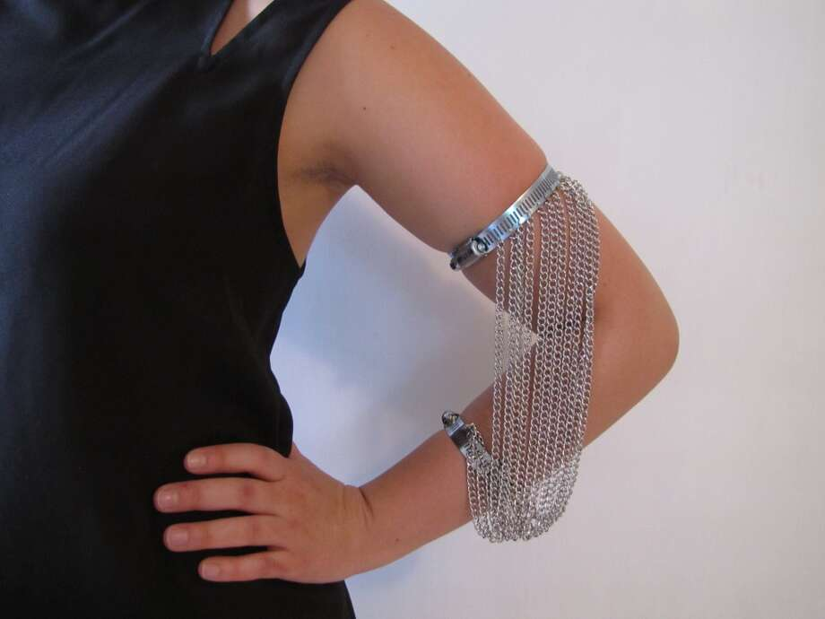 Adjustable armband, $15, Hardwear, Facebook.com/HardwearbyChelsey