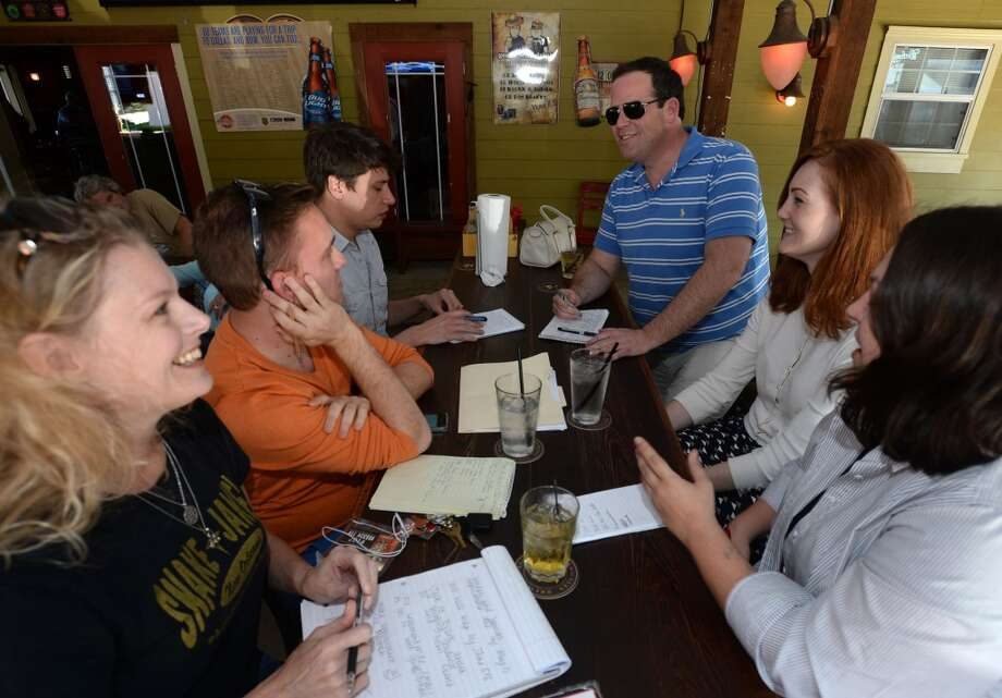 Committee members for Beaumont Pride meet Monday to prepare for the areas first gay pride event that will be held on June 21. Members say businesses have donated funds to help bolster the event. Photo taken Monday, April 07, 2014 Guiseppe Barranco/@spotnewsshooter