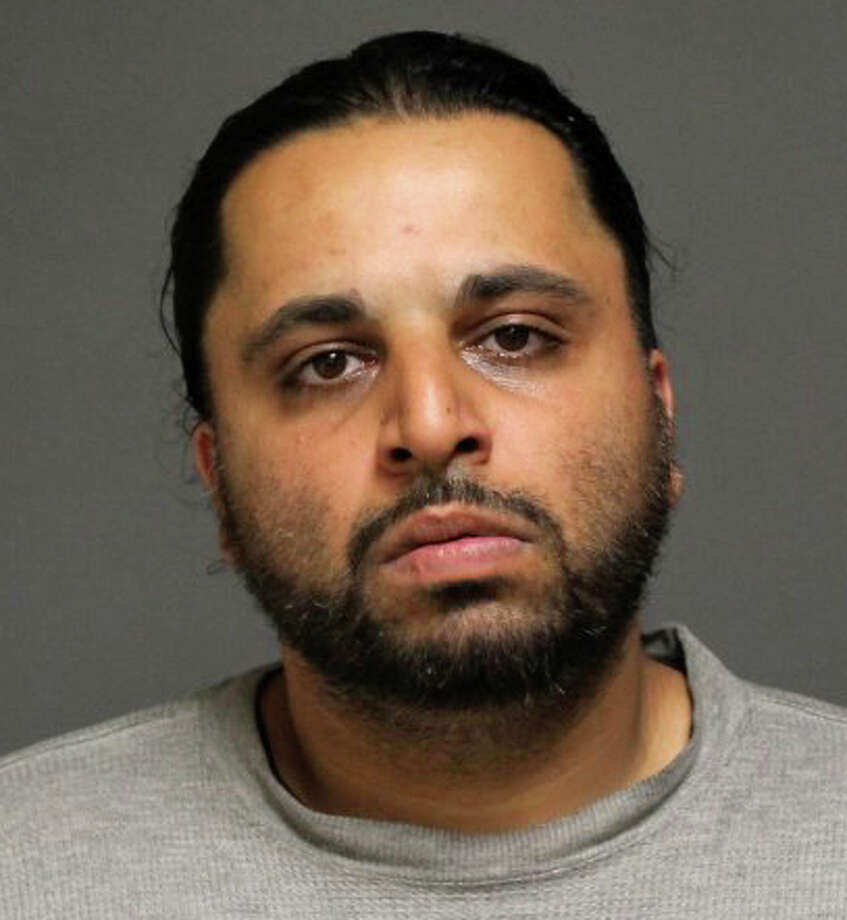 Subhan Sumra, 33, of Homeland Street, has been charged with threatening to kill his sister in a dispute over her refusal to tell him the whereabouts of his girlfriend, police said. Photo: Fairfield Police Department / Fairfield Citizen