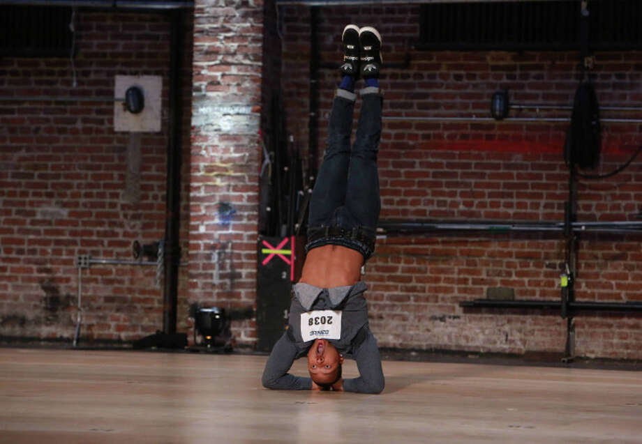 SO YOU THINK YOU CAN DANCE: A contestant shows off his moves at the Atlanta auditions for SO YOU THINK YOU CAN DANCE airing Wednesday, June 18 (8:00-10:00 PM ET/PT) on FOX. ©2014 Fox Broadcasting Co. CR: Quantrell Colbert/FOX / 1