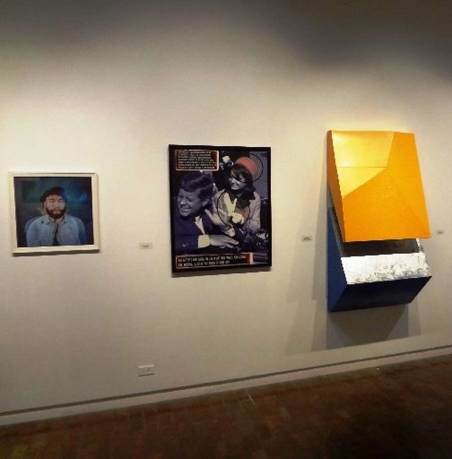 "Works by Courtney Chavanell, Gary Sweeney and Curt Slangal are in ""New Art/Arte Nueva"" at UTSA."