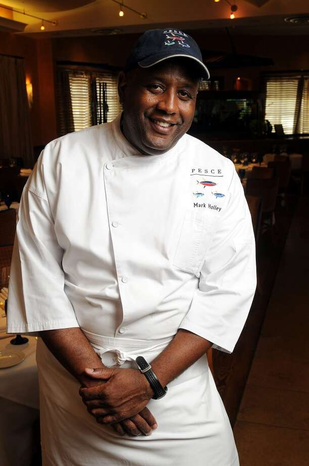 Chef Mark Holley at Pesce, June 2010. (Dave Rossman Photo) Photo: Dave Rossman, For The Chronicle