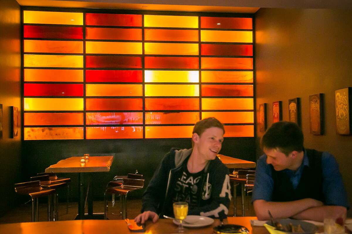 The Honey wall at The Coachman in San Francisco, Calif., is seen on Saturday, June 14th, 2014.