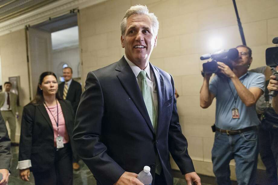 California Rep. Kevin McCarthy was selected as House majority leader to fill Eric Cantor's post. McCarthy, who was serving as whip, will be replaced by Louisiana Rep. Steve Scalise. Photo: J. Scott Applewhite, Associated Press