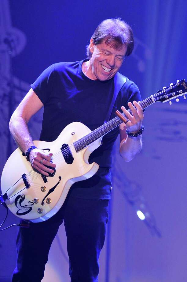 """Musician George Thorogood performs at """"Play It Forward: A Celebration of Music's Evolution and Influencers"""" at the Grammy Foundation's 15th Annual Music Preservation Project, Thursday, Feb. 7, 2013, in Los Angeles. (Photo by Vince Bucci/Invision/AP) ORG XMIT: MER2014042412594336 ORG XMIT: MER2014042413052560 Photo: Vince Bucci / Invision"""