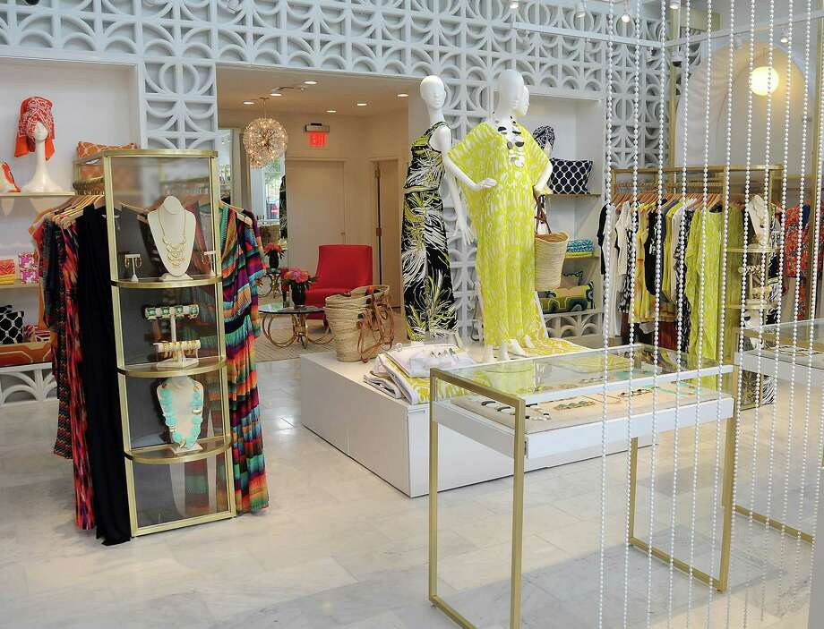 The new Trina Turk store at Market Street in The Woodlands features bright colors and a happy vibe. Photo: Dave Rossman, Freelance / © 2014 Dave Rossman