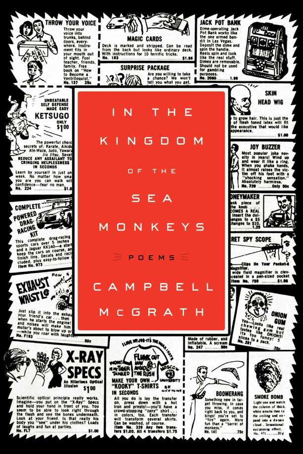 "Campbell McGrath is one of our established fine American poets. He is the author of nine collections of poetry, including his most recent, ""In the Kingdom of the Sea Monkeys"" (Ecco, 2012). He will kick off the New York State Writers Institute summer readings at Skidmore College in a joint reading with novelist Elizabeth Benedict on June 30.  (Courtesy of the author)"