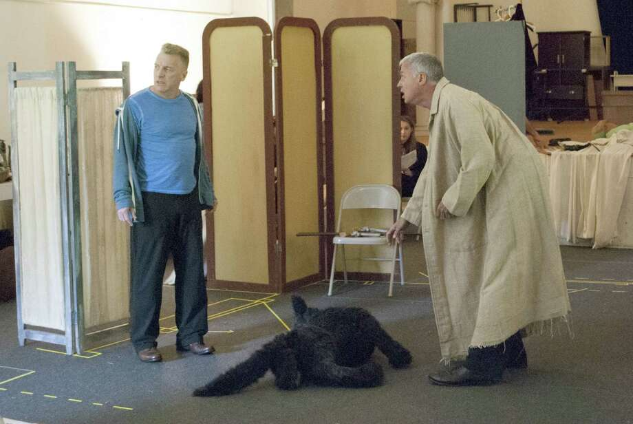 Bill Bowers and Tom Hewitt in Berkshire Theatre Group's The Mystery of Irma Vep Photographer: Christina Lyn Riley.
