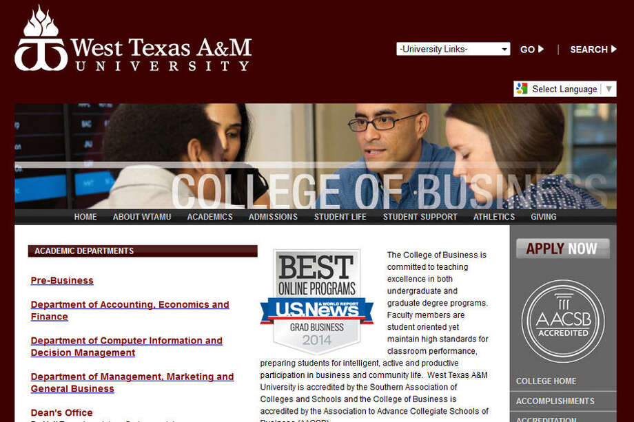 West Texas A&M University (Canyon):Best western college