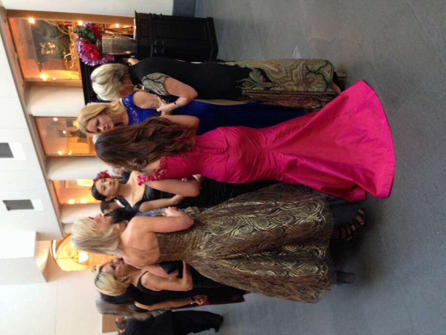 "Guests at the gala opening night of ""Gorgeous"" at the Asian Art Museum."