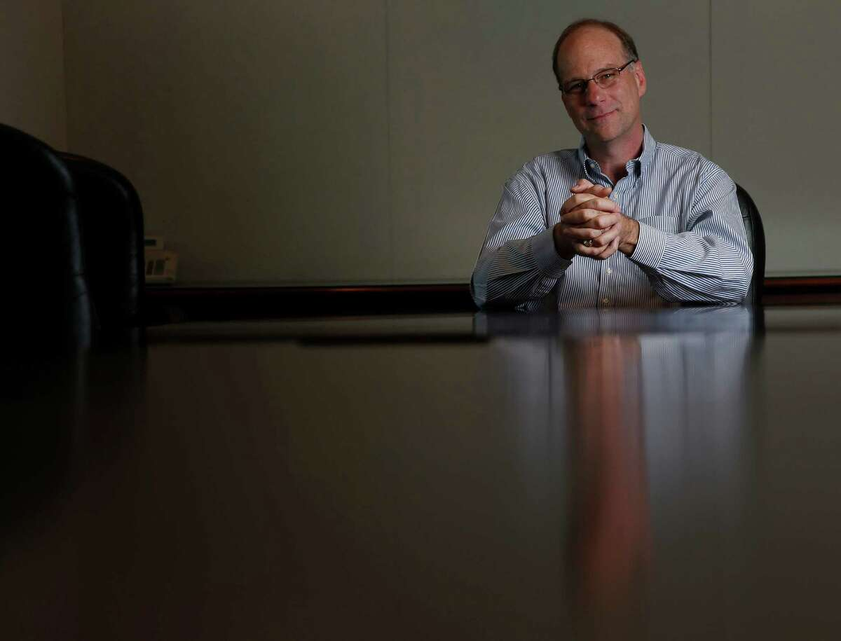 Joe Bob Perkins, CEO of Targa Resources, photographed in his office, Friday, May 30, 2014, in Houston. ( Karen Warren / Houston Chronicle )