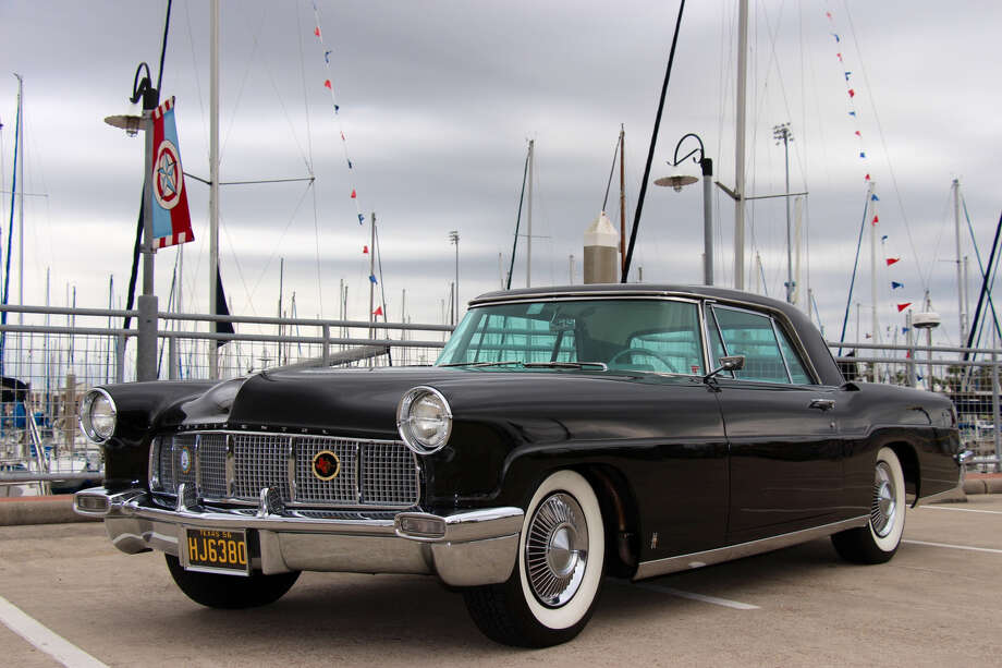 Dean Forbes kept an eye out during his school-day commute for a 1956 Lincoln Continental Mark II, such as the one above.