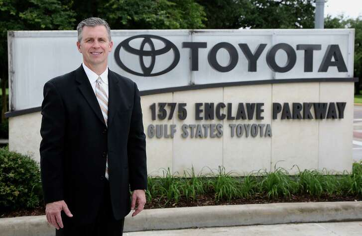 Gulf States Toyota President Martin Collins poses for a portrait for the Chron 100 special Wednesday, May 28, 2014, in Houston. ( James Nielsen / Houston Chronicle )