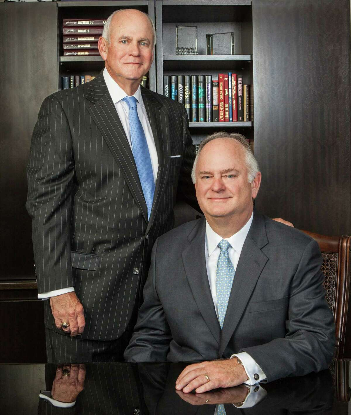 David Tauber, standing, and Richard Tauber own the company started by their father in 1953.
