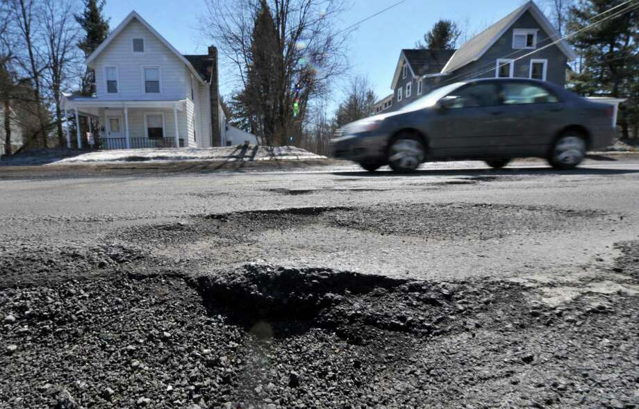 On Monday, the White House released a report on the state of the nation's infrastructure, and Connecticut's roadswere rated the worst in the nation. Thereportincluded a list of the 20 urban areas where motorists spend the most on average maintaining their vehicles due to poor road conditions. Again, Connecticut — specifically the Bridgeport-Stamford metro area — ranked among the worst.Scroll through for a look at these 20 metro areas and how much the road conditions cost motorists each year.Source: TRIP (2013). Bumpy Roads Ahead: America's Roughest Rides and Strategiesto Make our Roads Smoother. Photo: John Carl D'Annibale / 00026192A