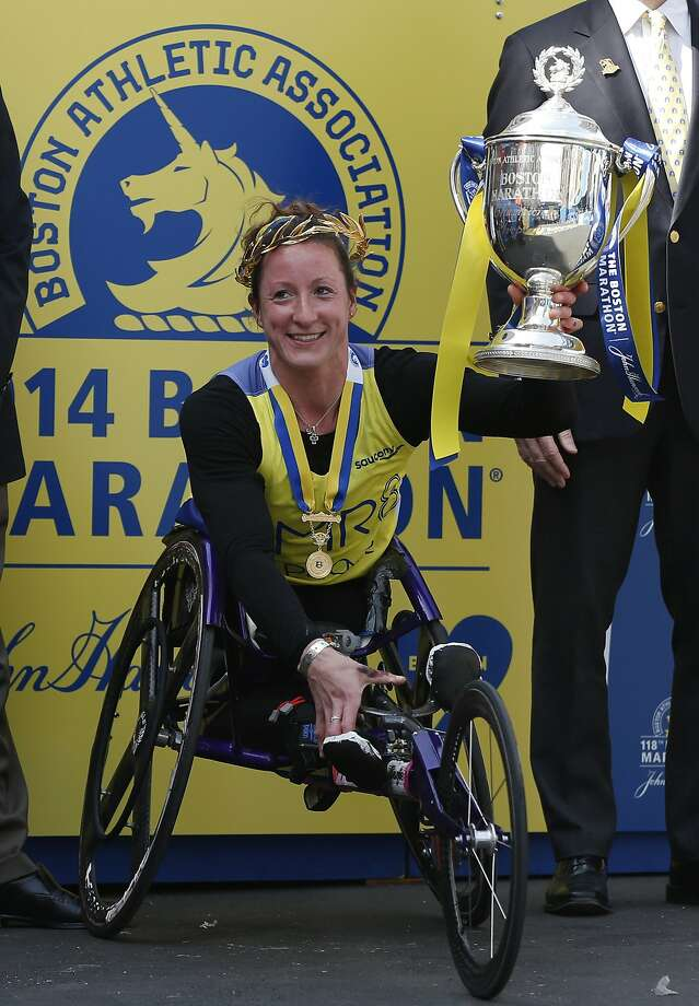 Tatyana McFadden Photo: Elise Amendola, Associated Press