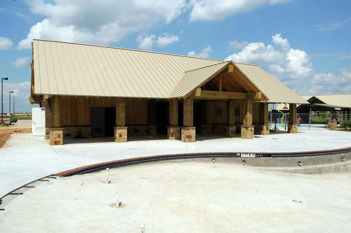The Westridge Creek Recreation Center is being built in Cinco Ranch, which had 819 house starts last year.