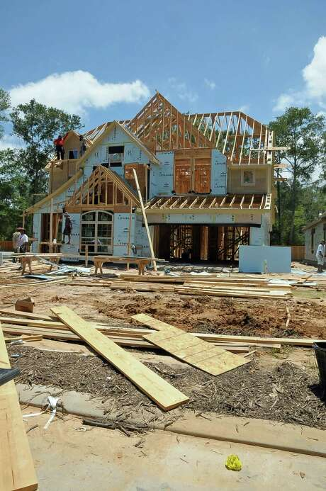 The city of Houston set a record for the value of construction permits three months in a row. In May, residential permits increased to $367 million. Photo: Â Tony Bullard 2014, Freelance Photographer / © Tony Bullard & the Houston Chronicle