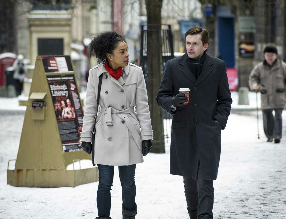 "Sophie Okonedo and David Tennant play attorneys on opposite sides of a horrifying case in Sunday's ""Escape Artist."" Photo: Endor Productions / san antonio express-news"