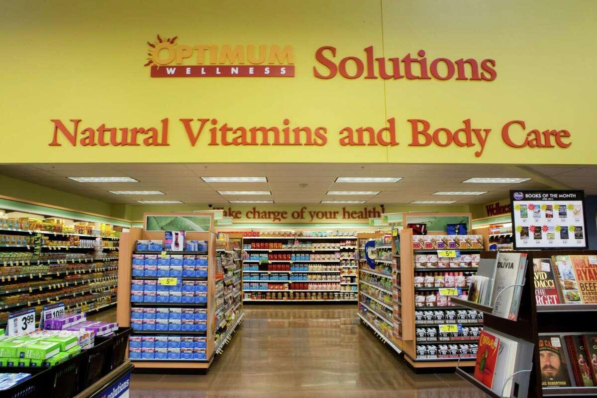 Kroger Marketplace in Spring health foods department, Monday, June 2, 2014, in Spring. ( Marie D. De Jesus / Houston Chronicle )