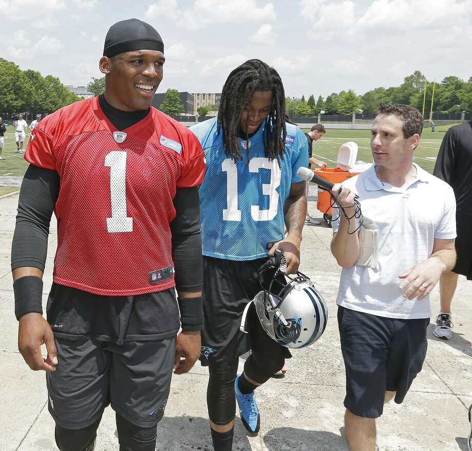 Panthers QB Cam Newton underwent ankle surgery March 19. Photo: Bob Leverone, Associated Press