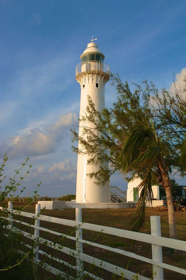 Grand Turk Grand Turk in the Turks & Caicos is home to one of the oldest cast-iron lighthouses in the Western Hemisphere, erected in 1852.  Go see it with Carnival. Photo: The Turks & Caicos Tourist Board