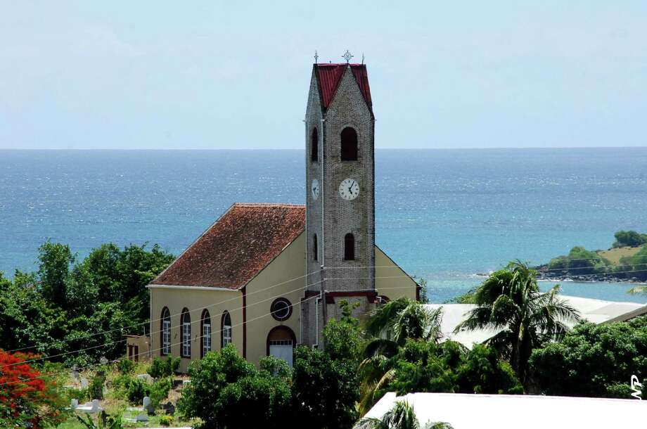 GrenadaSt. Patrick's Church in Grenada, set against the clear blue.  Visit here with Carnival. Photo: Kingwood Christian Church