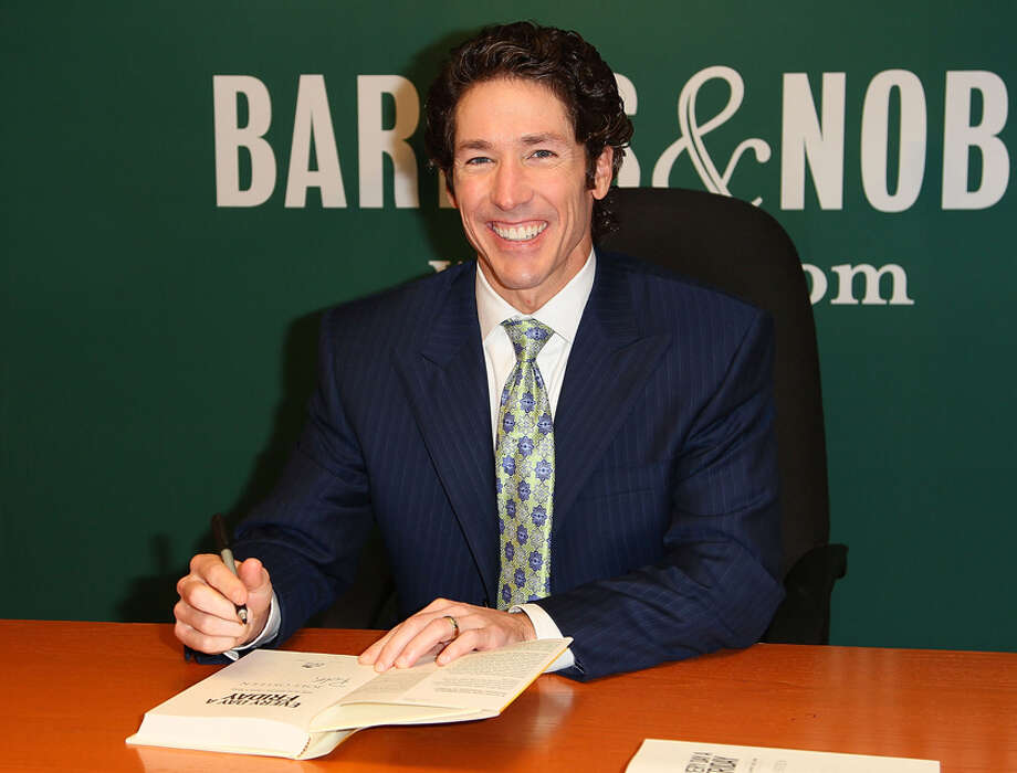 We'll pray for you.Joel Osteen will pray with you before every home game, and every road game with the help of Skype.  Photo: Jeffrey Ufberg, WireImage / 2011 Jeffrey Ufberg