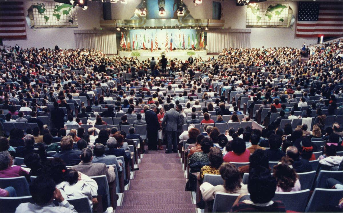 8,000 - Members of Lakewood the year Osteen took the helm of Lakewood.