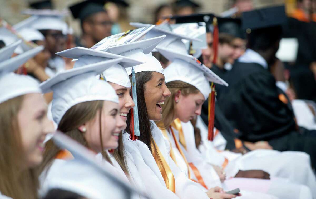 The Stamford High School commencement ceremony on Thursday, June 19, 2014.
