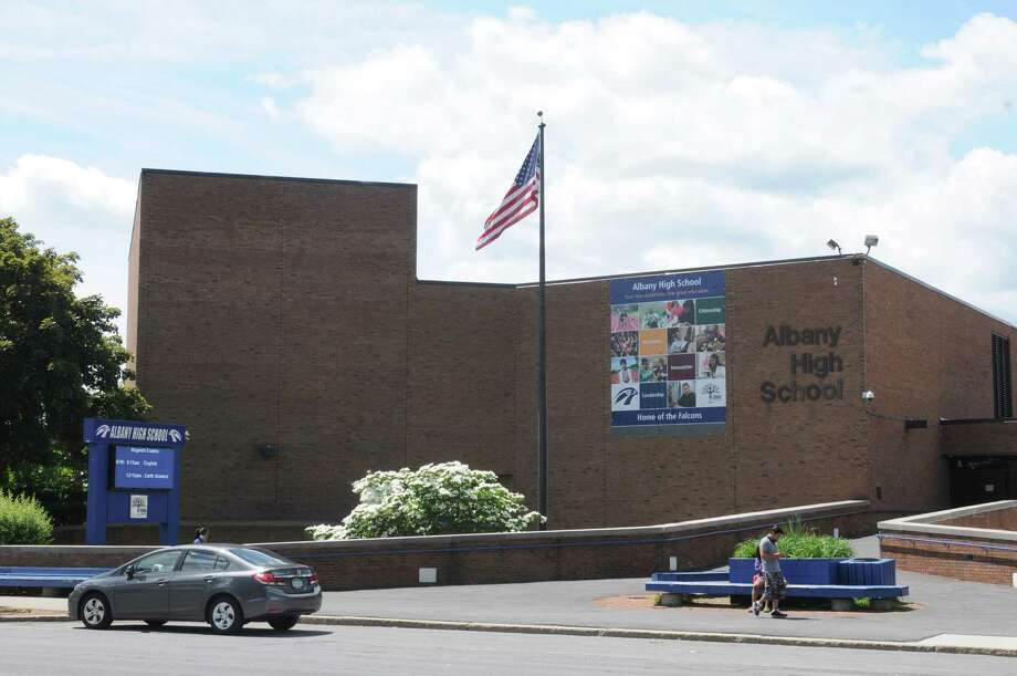 Albany High School at 700 Washington Avenue on Thursday June 19, 2014 in Albany, N.Y.  (Michael P. Farrell/Times Union) Photo: Michael P. Farrell / 00027442A