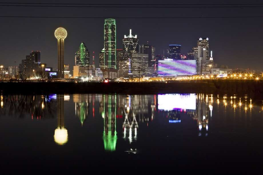 Dallas has more billionaires than we do, but we have more skyscrapers. Does that make us sort of even in a crazy Freudian way?  Photo: Brandon Wade, Associated Press