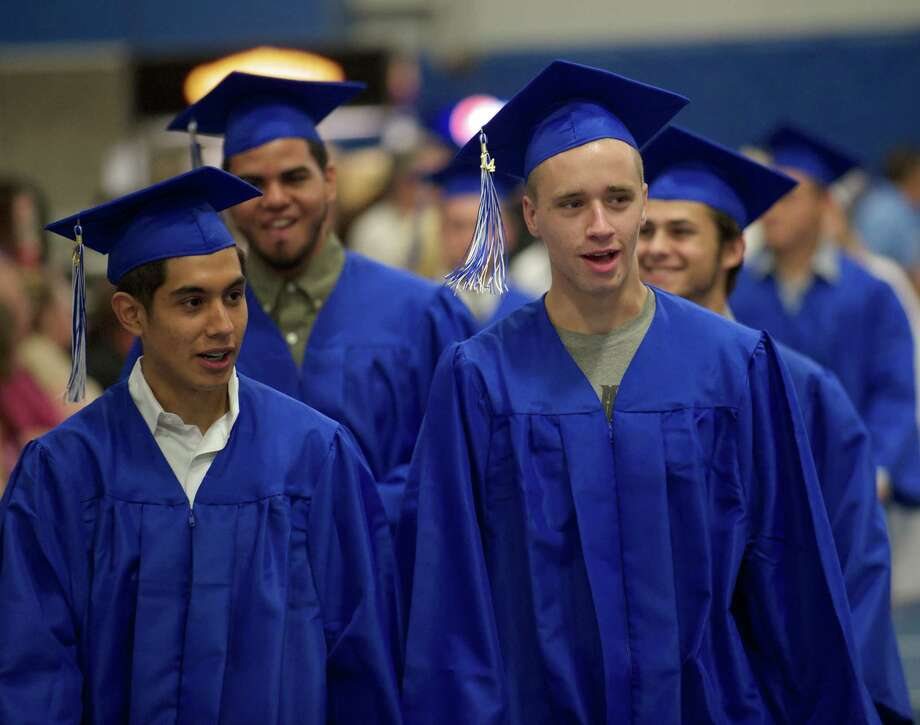 Henry Abbott Technical High School 2014 Graduation Ceremony, on Thursday, June 19, 2014, held at the Western Connecticut State University O'Neill Center. Photo: H John Voorhees III / The News-Times Freelance