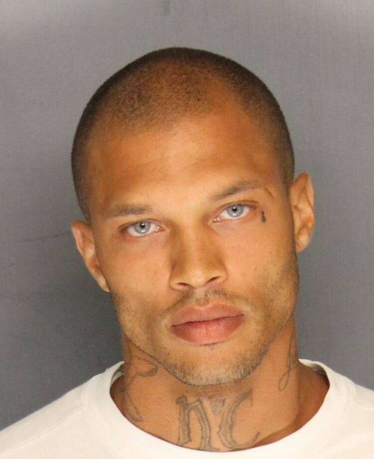 This mugshot from Stockton, California went viral last week after people all over the Internet went wild over the 'handsomeness' of the accused. But we couldn't help but focus on the face tattoo, a bold life decision that changes the tattooed person's life forever. Click through the rest of the slideshow for a series of Houston face tattoos photographed by Chronicle courts reporter Brian Rogers. Photo: Stockton Police Department, AP / Stockton Police Dept.