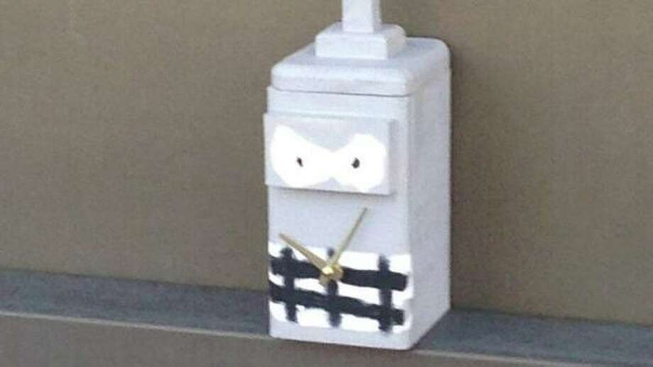 NBC 4 New York obtained a picture of the abandoned box that led to the police presence and delays (you can see it above.) It had clock hands and a face painted on it.  A law enforcement official told NBC New York that it had had been left on an overpass above the Fairfield train station.