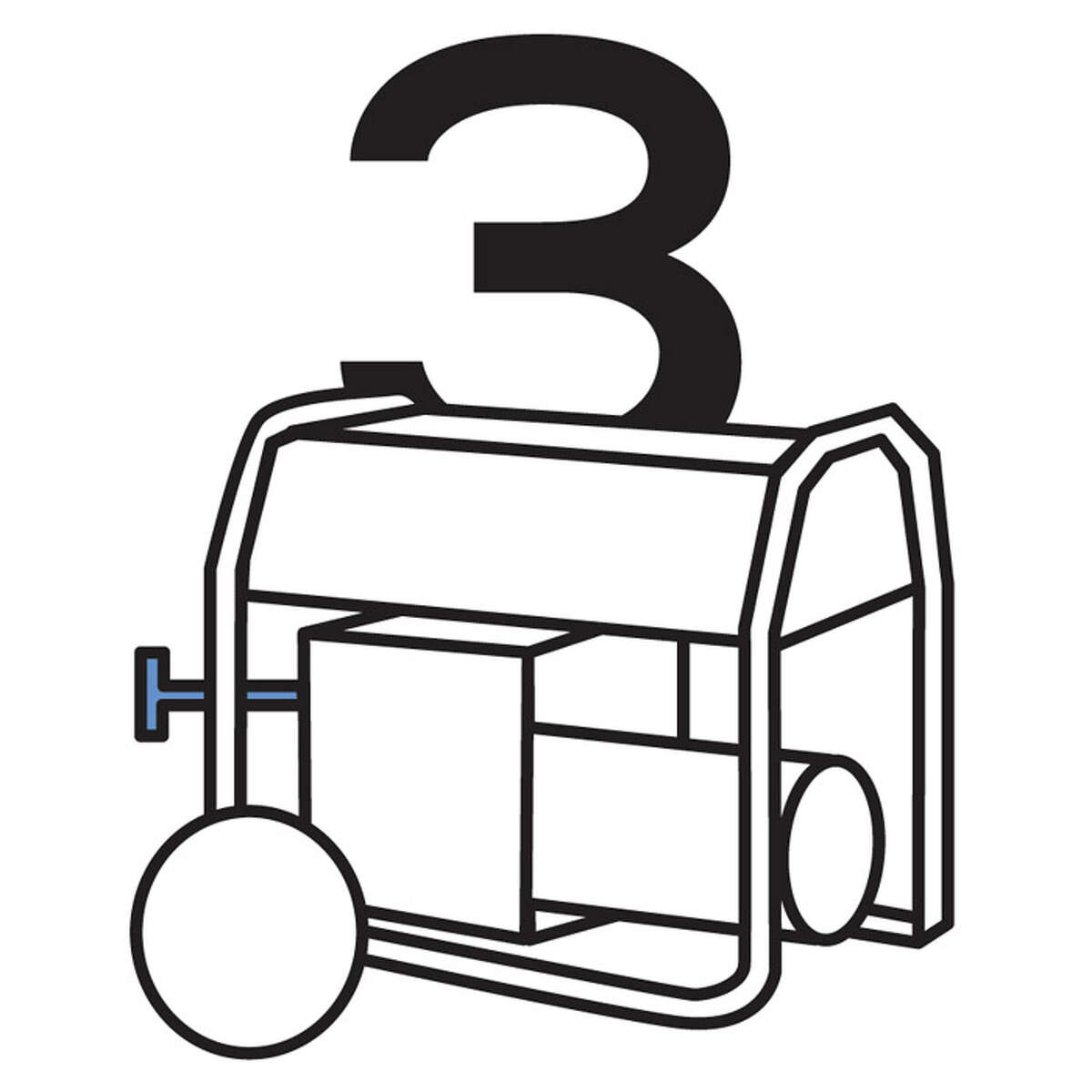 Slidin' Dirty BY THE NUMBERS: 3: Number of kitchen-powering generators replaced in first two years on truck.