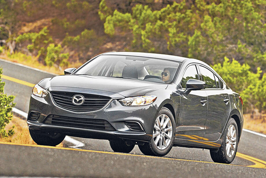 2014 Mazda 6 Touring (photo Courtesy Mazda)