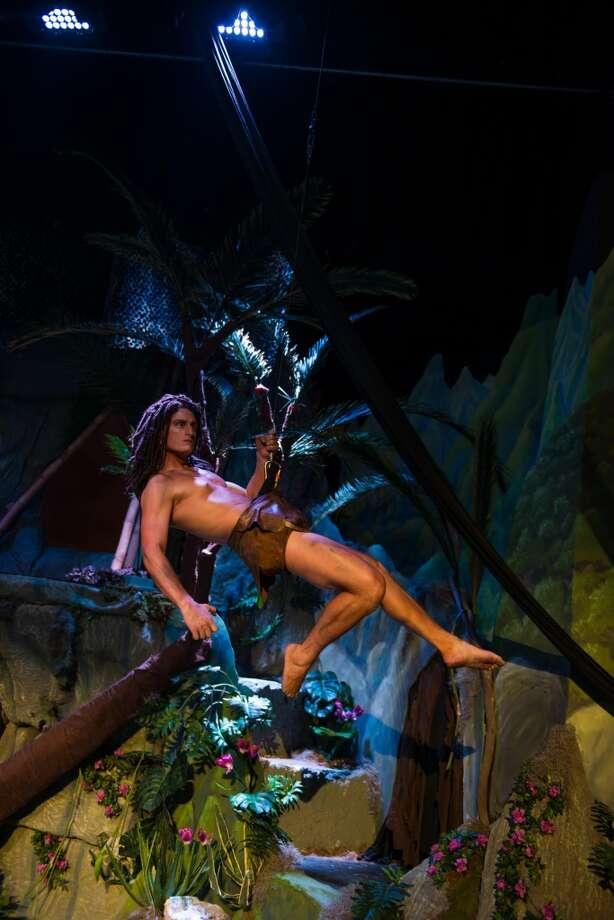 "Opening: ""Tarzan."" Through July 20, Woodlawn Theatre. woodlawntheatre.org; 210-267-8388. Photo courtesy of Siggi Ragnar."
