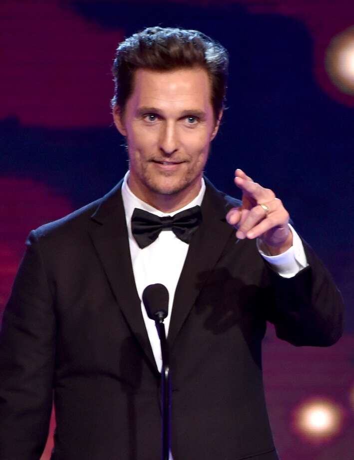 Actor Matthew McConaughey accepts the Best Actor in a Drama Series award for 'True Detective' onstage during the 4th Annual Critics' Choice Television Awards at The Beverly Hilton Hotel on June 19, 2014 in Beverly Hills, California.  (Photo by Kevin Winter/Getty Images for Critics' Choice Television Awards) Photo: Kevin Winter