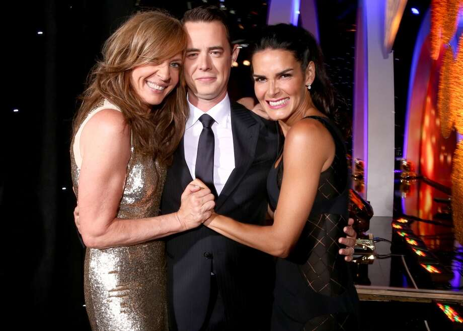 (L-R) Actors Allison Janney, Colin Hanks and Angie Harmon attend the 4th Annual Critics' Choice Television Awards at The Beverly Hilton Hotel on June 19, 2014 in Beverly Hills, California.  (Photo by Christopher Polk/Getty Images for Critics' Choice Television Awards) Photo: Christopher Polk