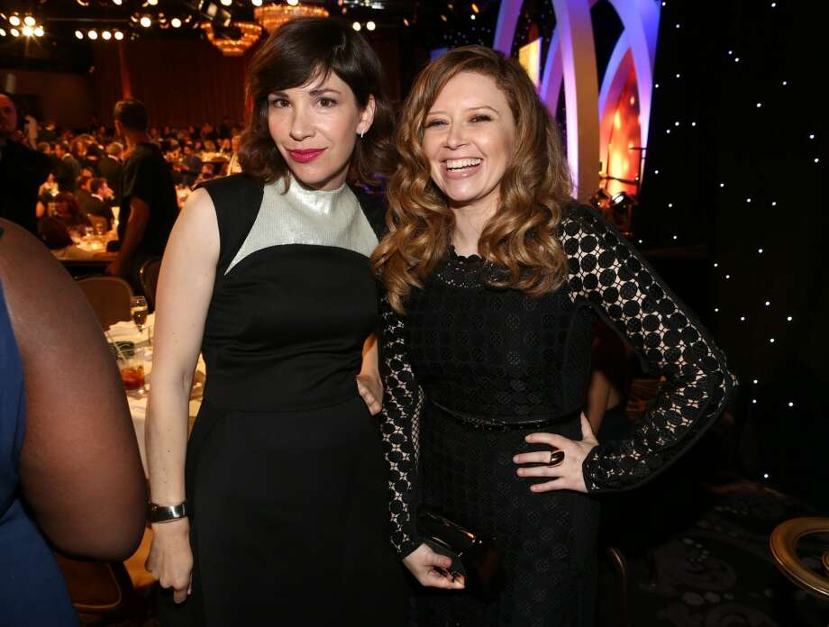 Actresses Carrie Brownstein and Natasha Lyonne attend the 4th Annual Critics' Choice Television Awards at The Beverly Hilton Hotel on June 19, 2014 in Beverly Hills, California.  (Photo by Christopher Polk/Getty Images for Critics' Choice Television Awards) Photo: Christopher Polk