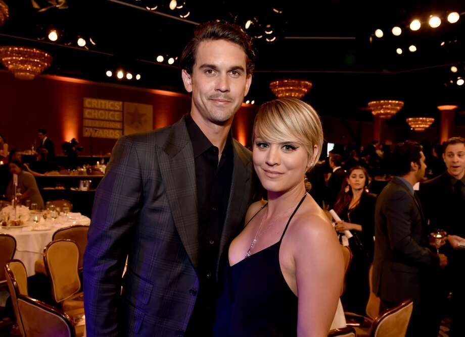 Actress Kaley Cuoco (R) and Ryan Sweeting attend the 4th Annual Critics' Choice Television Awards at The Beverly Hilton Hotel on June 19, 2014 in Beverly Hills, California.  (Photo by Kevin Winter/Getty Images for Critics' Choice Television Awards) Photo: Kevin Winter